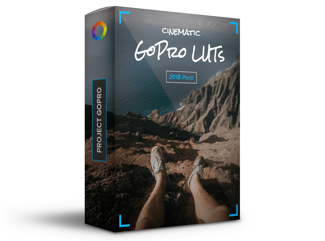 packing for Project GoPro LUTs Color Grading Pack - Includes 36 GoPro Presets