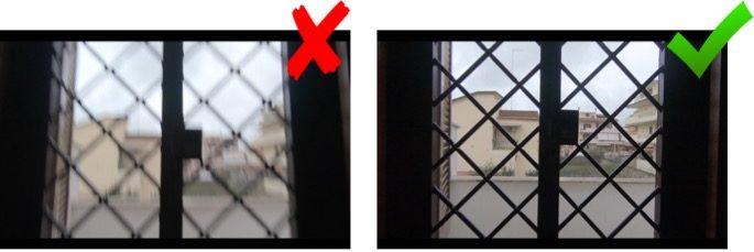 Seite-an-Seite-Vergleich von GoPro-Aufnahmen mit und ohne Stabilisierung