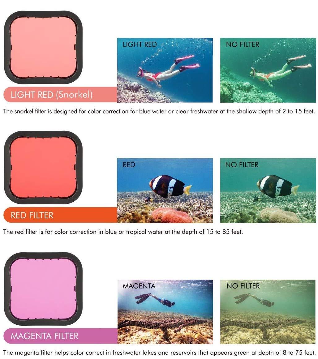 gopro filtro subacqueo