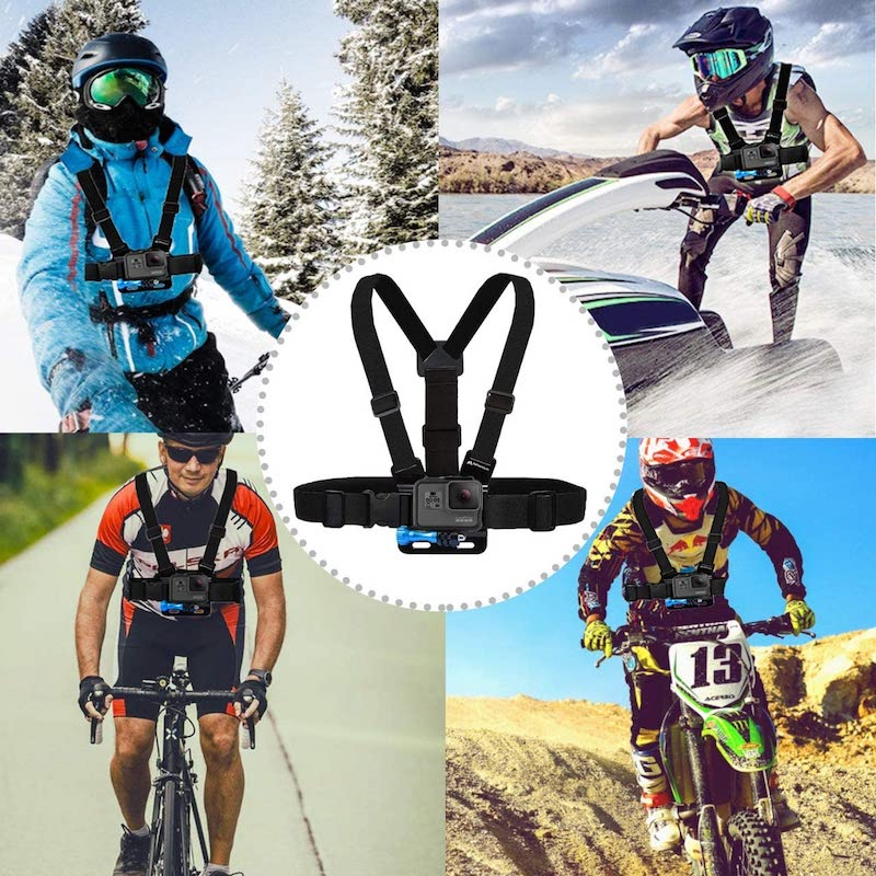 gopro chest mounts for sport