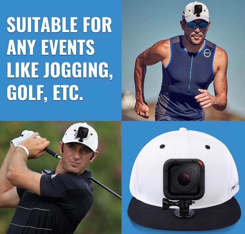 gopro hat mount