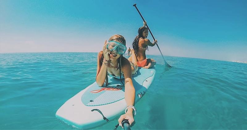 gopro pole selfie