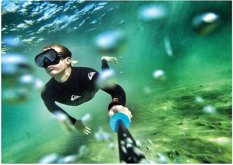 gopro underwater pole