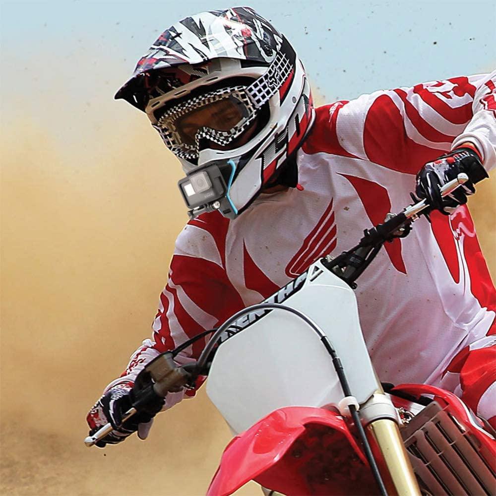 Mentonera para casco de motocross