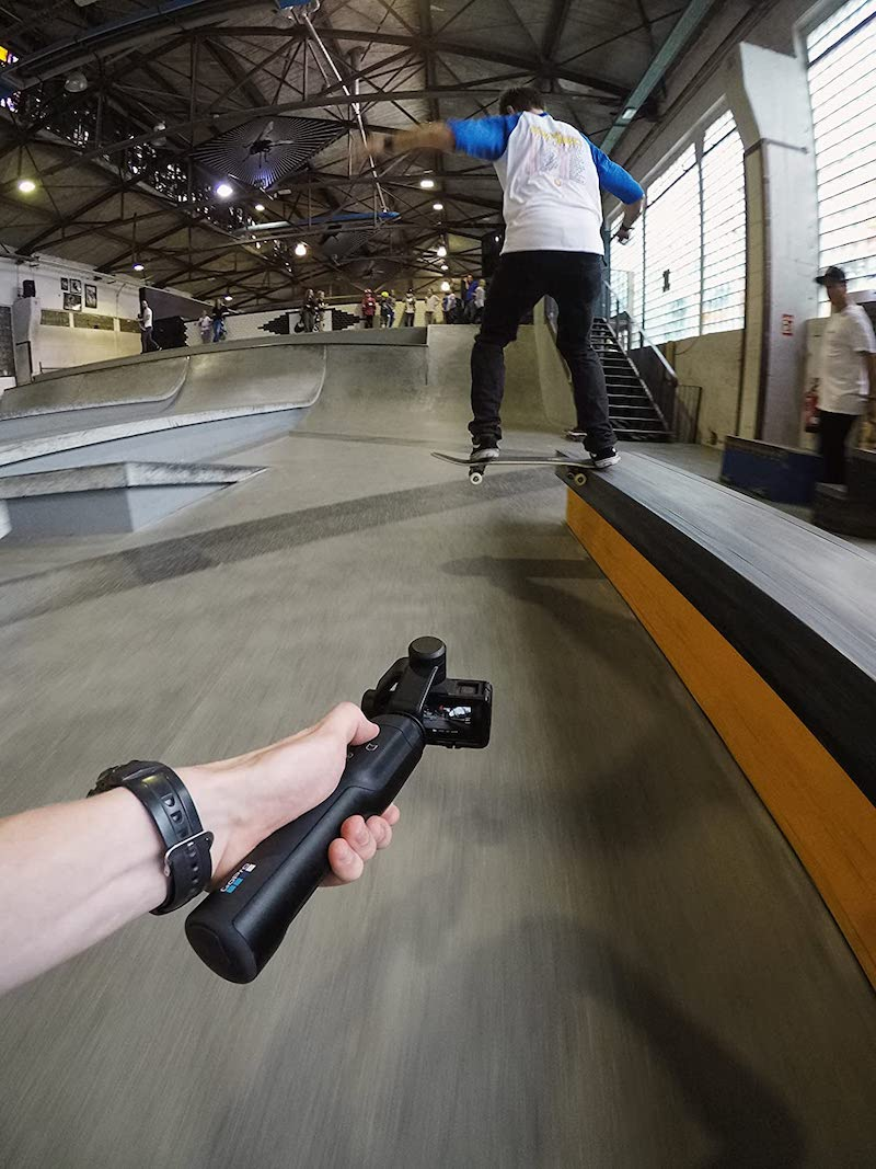 gopro grip skating