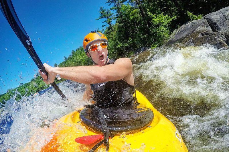 gopro kayak pov shot