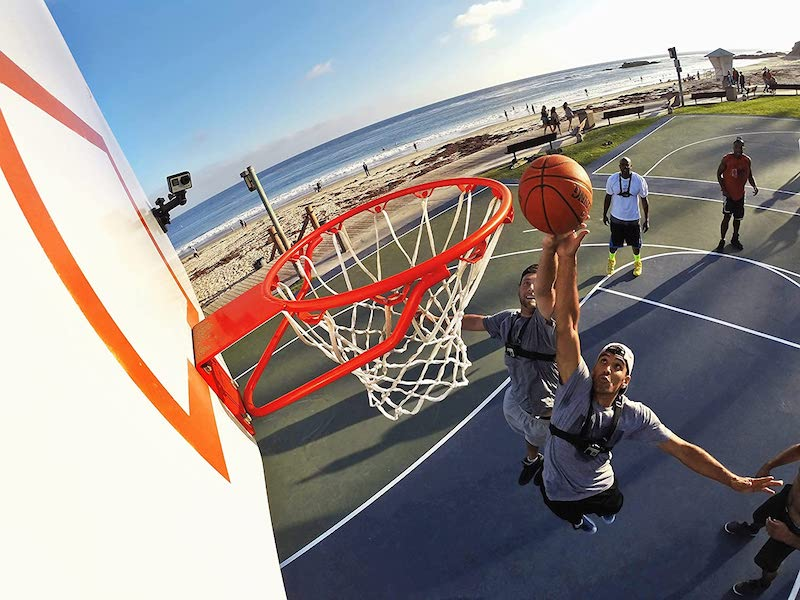 gopro suction cup basketball