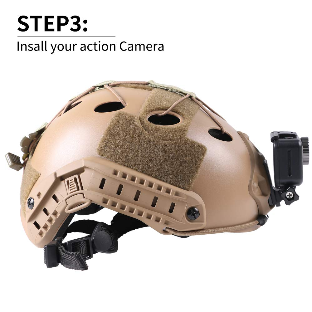 how to mount gopro nvg step 3
