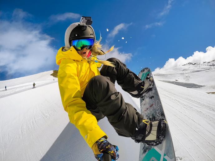 GoPro Hero 10 Snow Settings